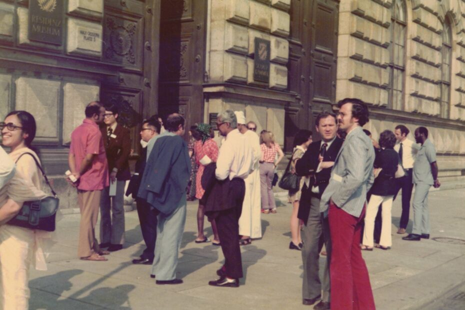 Delegates to Munich Assembly 1974
