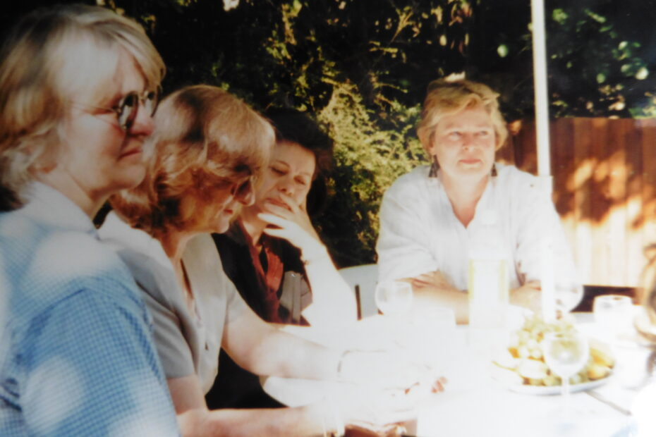 Meeting of WUS UK Women's group at Compton Terrace