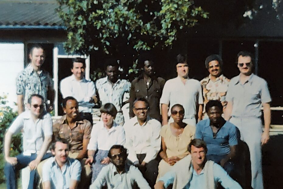 WUS International Executive 1979 with staff and observers  Chéman des Iris, Geneva